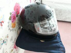 Brand new motorbike helmet