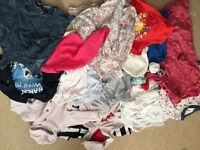 Bundle of baby girl clothes - 6-9 months