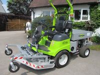 GRILLO FM 110 OUTFRONT ROTARY MOWER WITH CARGO BOX,EX DEMO MOWING MACHINE