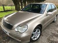 Mercedes advantargar kompressor c200 automatic long mot service £995
