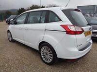 FORD GRAND C-MAX 1.6 TDCi Titanium 5dr (7 Seats) (white) 2013