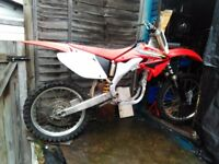 Crf 450 rolling frame