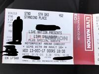 Liam Gallagher - Cardiff Motorpoint Arena - Standing tickets in hand ready to send
