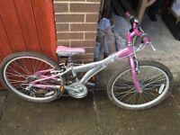 """Girls 14"""" Mountain Bike"""