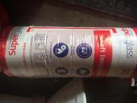 Loft Insulation - Superglass Fibreglass 200mm thick 5.6m2 per roll