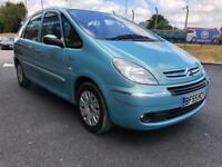 2005 Citroen Xsara Picasso 1.6 Desire 2 5Dr Blue Bargain Quick Sale 11 month mot petrol Manual mpv