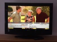 """32"""" flat panel tv full HD freeview built in"""