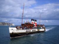 2X Tickets Waverly Paddle Steamer, Clacton Pier to Tower Pier, London. 27/09/17 with bus back!