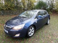 VAUXHALL ASTRA 1.7 SRI CDTI 123 **EXCELLENT FINANCE PACKAGES**