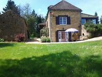 Lovely old stone house Dordogne 3 beds heated swimming pool