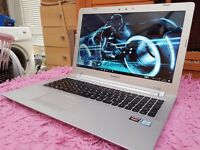 "Gaming Lenovo Laptop Core i7 - 12 GB Ram - 2 GB Dedicated Graphics - 15.6"" Full HD - Windows 10"