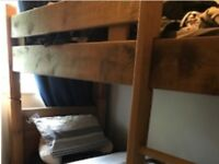 Solid Oak Bunk Beds