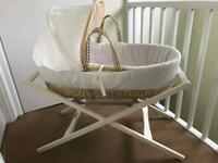 Moses basket and newborn sleep bundle