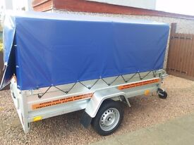 NEW Car trailers 7.7 x 4.1 and cover £800 inc vat