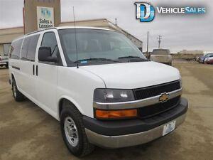 2014 Chevrolet Express 3500 15 PASSENGER, SATELITE RADIO, DUAL C