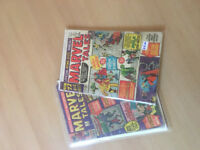 Marvel Tales Annual #2 and #3 both tatty but complete
