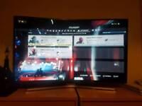 55 inch 4k Samsung curved tv
