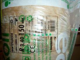 1 roll of Knauf Eart Wool Loft Insulation