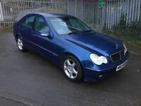 2004 mercedes c220 AVANTGARDE auto full years mot