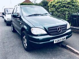 Mercedes-Benz ML270 2001