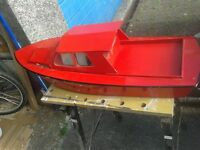 Model Boat Wooden 34 inches long Buyer collect. cash only
