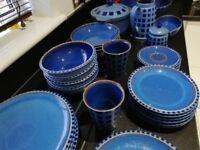 Reflex blue Denby set