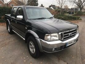 Fabulous Value 2006 DIESEL TWIN CAB PICKUP Ford Ranger XLT Thunder Full Roll Top Back Very Good Con
