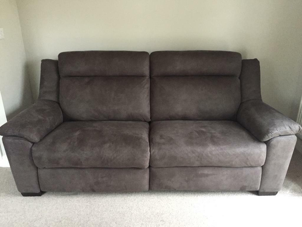 Reclining 3 Seat Sofa And Arm Chair From Leekes In