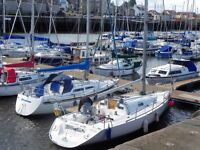beneteau europe 36ft. yacht 1991 fully equipped cheap for quick sale