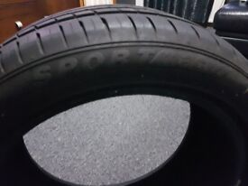 205/50 R17 like new tyres