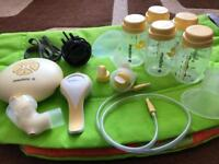 Madela swing electric and manual breast pump