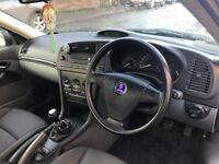 Saab 9-3 1.8 petrol 12 months mot