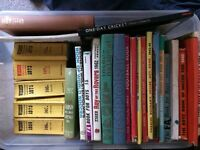 Sports ( football)books from '60s, & Wisdens ( cricket)
