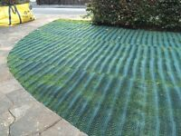 Easy to lay parking! Grass Protecta Premium Mesh 2 x 7 Metre roll, unused.