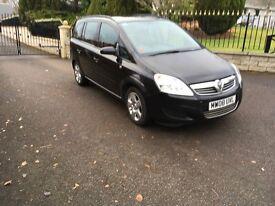 Vauxhall Zafira 1.6 Exclusive 7 Seater