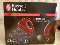 BRAND NEW Russell Hobbs Electric Hand Mixer
