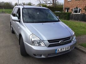 Hi for sale Kia Sedona 7 seater very good condition with full service history only 2 owners