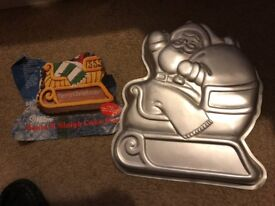Used Novelty Wilton Cake Tins