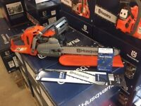"""Husqvarna 550xp Chainsaw Complete with 15"""" bar and chain + FREE SPARE CHAIN/BAR!"""