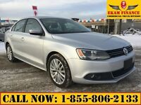 2011 Volkswagen Jetta TDI Leather Heated Seats, Nav, Sunroof Loa