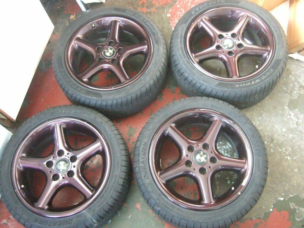 17 BMW Z3, 3 series, 1 series Alloy Wheels 5x120. *POSTAGE AVAILABLE*