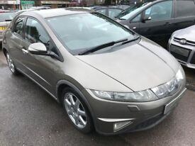 2007/57 HONDA CIVIC 2.2i CDTi SPORT 5DR DIESEL,GREAT SPEC,AND GOOD ECONOMY,LOOKS AND DRIVES WELL