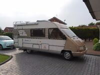 Hymer jet a class motorhome 2.5td79000 miles SORRY NOW SOLD