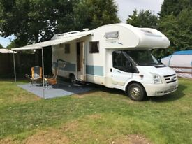 Motorhome campervan hire rental