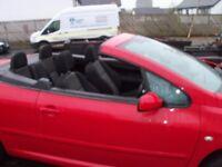 peugeot 307 convertible.52000 miles 2006 swap,van,car,motorbike or w.h.y