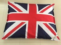 Giant Union Jack Beanbag by Made