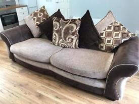 2 seater sofa with changeable cushion