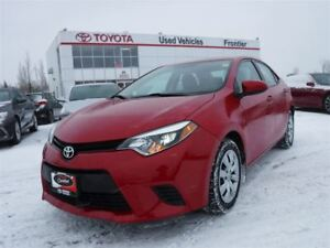 2014 Toyota Corolla LE TOYOTA CERTIFIED PRE OWNED