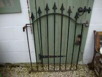 Steel,Garden Gate,Approx 43 Inches High,and 30 Inches Wide.