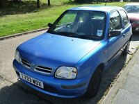 NISSAN MICRA 1.0 AUTOMATIC GEARBOX , LOW MILEAGE